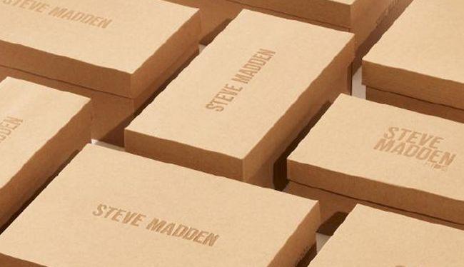 Steve Madden - Cajas sustentables